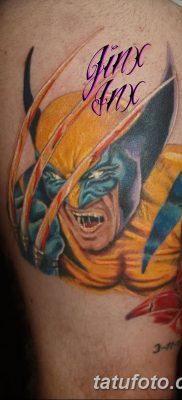 фото тату росомаха от 17.11.2017 №093 – Wolverine tattoo – tatufoto.com