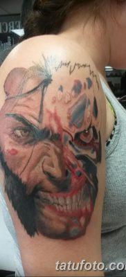 фото тату росомаха от 17.11.2017 №098 – Wolverine tattoo – tatufoto.com