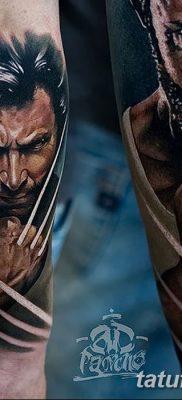 фото тату росомаха от 17.11.2017 №099 – Wolverine tattoo – tatufoto.com
