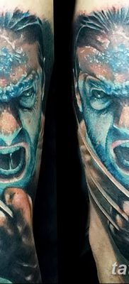 фото тату росомаха от 17.11.2017 №117 – Wolverine tattoo – tatufoto.com