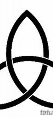 фото тату трикветр от 26.11.2017 №008 – tattoo Trikvetra – tatufoto.com