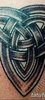фото тату трикветр от 26.11.2017 №015 – tattoo Trikvetra – tatufoto.com