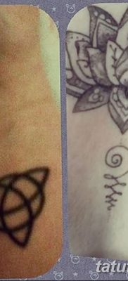 фото тату трикветр от 26.11.2017 №025 – tattoo Trikvetra – tatufoto.com