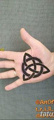 фото тату трикветр от 26.11.2017 №026 – tattoo Trikvetra – tatufoto.com