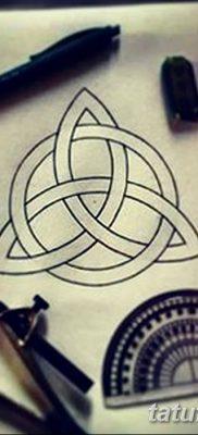 фото тату трикветр от 26.11.2017 №031 – tattoo Trikvetra – tatufoto.com