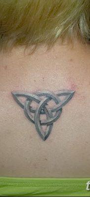 фото тату трикветр от 26.11.2017 №032 – tattoo Trikvetra – tatufoto.com