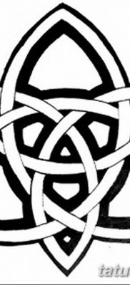 фото тату трикветр от 26.11.2017 №048 – tattoo Trikvetra – tatufoto.com