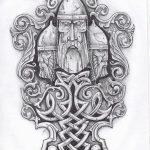 фото эскизы тату сварог от 03.11.2017 №002 - sketches tattoo swarog - tatufoto.com