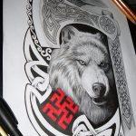 фото эскизы тату сварог от 03.11.2017 №004 - sketches tattoo swarog - tatufoto.com