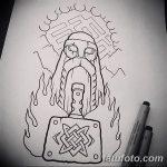 фото эскизы тату сварог от 03.11.2017 №011 - sketches tattoo swarog - tatufoto.com