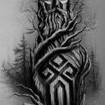 фото эскизы тату сварог от 03.11.2017 №015 - sketches tattoo swarog - tatufoto.com