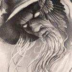 фото эскизы тату сварог от 03.11.2017 №018 - sketches tattoo swarog - tatufoto.com