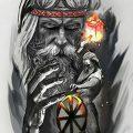 фото эскизы тату сварог от 03.11.2017 №019 - sketches tattoo swarog - tatufoto.com