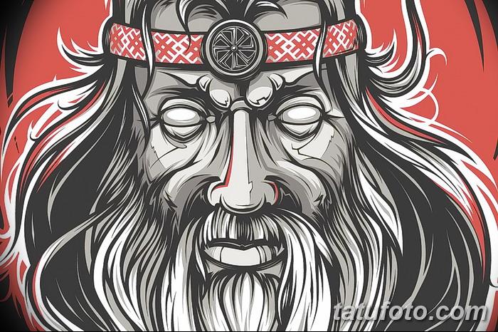 фото эскизы тату сварог от 03.11.2017 №028 - sketches tattoo swarog - tatufoto.com