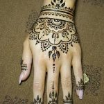 фото Мехенди на пальцах рук от 26.12.2017 №016 - Mehendi on fingers of han - tatufoto.com