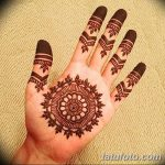 фото Мехенди на пальцах рук от 26.12.2017 №027 - Mehendi on fingers of han - tatufoto.com