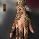 фото Мехенди на пальцах рук от 26.12.2017 №028 - Mehendi on fingers of han - tatufoto.com