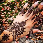 фото Мехенди на пальцах рук от 26.12.2017 №039 - Mehendi on fingers of han - tatufoto.com