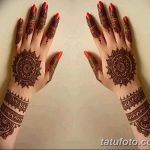 фото Мехенди на пальцах рук от 26.12.2017 №050 - Mehendi on fingers of han - tatufoto.com