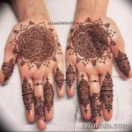 фото Мехенди на пальцах рук от 26.12.2017 №068 - Mehendi on fingers of han - tatufoto.com