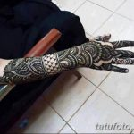 фото Мехенди на пальцах рук от 26.12.2017 №087 - Mehendi on fingers of han - tatufoto.com