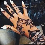 фото Мехенди на пальцах рук от 26.12.2017 №089 - Mehendi on fingers of han - tatufoto.com