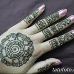 фото Мехенди на пальцах рук от 26.12.2017 №095 - Mehendi on fingers of han - tatufoto.com