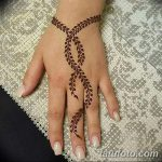 фото Мехенди на пальцах рук от 26.12.2017 №097 - Mehendi on fingers of han - tatufoto.com