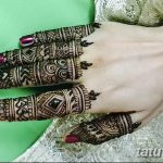 фото Мехенди на пальцах рук от 26.12.2017 №099 - Mehendi on fingers of han - tatufoto.com