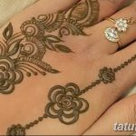 фото Мехенди на пальцах рук от 26.12.2017 №101 - Mehendi on fingers of han - tatufoto.com