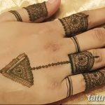 фото Мехенди на пальцах рук от 26.12.2017 №102 - Mehendi on fingers of han - tatufoto.com