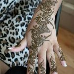 фото Мехенди на пальцах рук от 26.12.2017 №110 - Mehendi on fingers of han - tatufoto.com