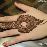 фото Мехенди на пальцах рук от 26.12.2017 №115 - Mehendi on fingers of han - tatufoto.com