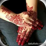 фото Мехенди на пальцах рук от 26.12.2017 №118 - Mehendi on fingers of han - tatufoto.com