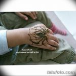 фото Мехенди паук от 03.12.2017 №014 - Mehendi the spider - tatufoto.com
