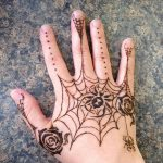 фото Мехенди паук от 03.12.2017 №025 - Mehendi the spider - tatufoto.com