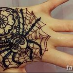 фото Мехенди паук от 03.12.2017 №033 - Mehendi the spider - tatufoto.com