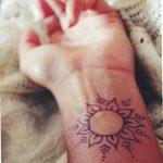 фото Мехенди солнце от 26.12.2017 №052 - Mehendi the sun - tatufoto.com