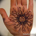 фото Мехенди солнце от 26.12.2017 №058 - Mehendi the sun - tatufoto.com