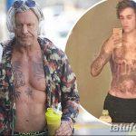 фото Новая тату Джастина Бибера от 05.12.2017 №005 - Justin Bieber's - tattoo-photo.ru 235234234
