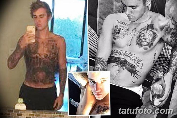 фото Новая тату Джастина Бибера от 05.12.2017 №017 - Justin Bieber's - tattoo-photo.ru
