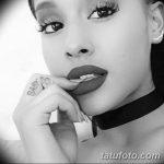 фото Тату Арианы Гранде от 03.12.2017 №010 - Ariana Grande Tattoo - tatufoto.com