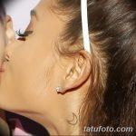 фото Тату Арианы Гранде от 03.12.2017 №031 - Ariana Grande Tattoo - tatufoto.com