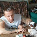 фото Тату Ивана Охлобыстина от 03.12.2017 №030 - Tattoo Ivan Okhlobystin - tatufoto.com