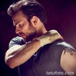 фото Тату Криса Эванса от 19.12.2017 №001 - Chris Evans Tattoo - tatufoto.com