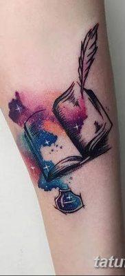 фото тату Книга от 26.12.2017 №005 – tattoo Book – tatufoto.com
