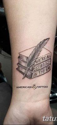 фото тату Книга от 26.12.2017 №008 – tattoo Book – tatufoto.com