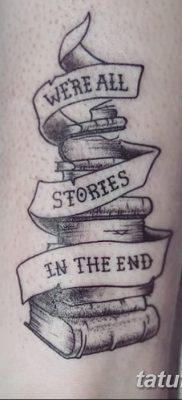 фото тату Книга от 26.12.2017 №021 – tattoo Book – tatufoto.com