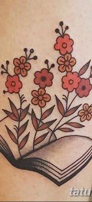 фото тату Книга от 26.12.2017 №027 – tattoo Book – tatufoto.com
