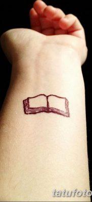 фото тату Книга от 26.12.2017 №040 – tattoo Book – tatufoto.com